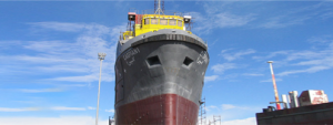 قطعات فلزی کشتی