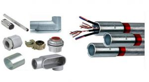 انواع اتصالات لوله برق