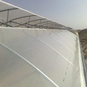 متریال مورد استفاده برای اتصالات سازه گلخانه