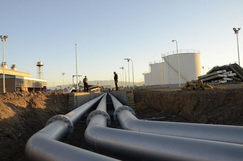 لوله های خطوط نفت و گاز