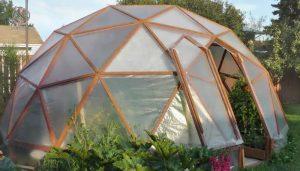 گلخانه خانگی گنبدی و نحوه ایجاد آن
