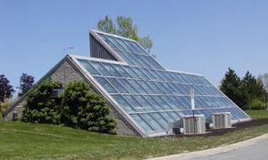 استفاده از انرژی خورشیدی در گلخانه