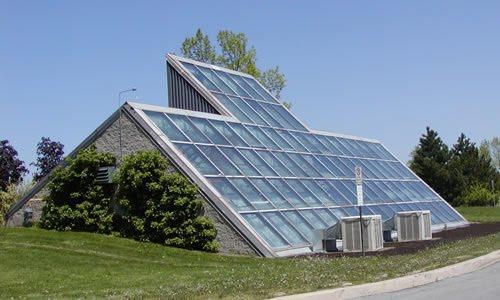 استفاده ار انرژی خورشیدی در گلخانه
