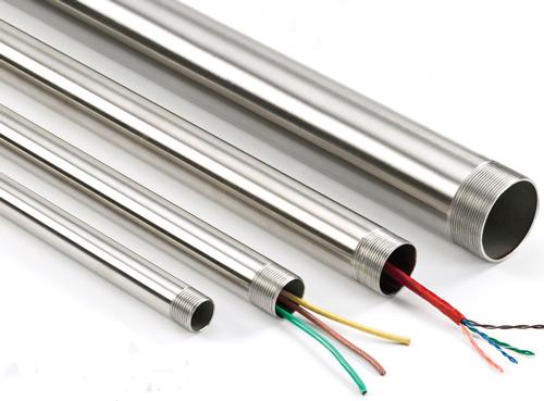 انواع لوله های فولادی گالوانیزه برق
